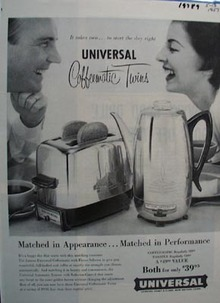 Universal Matched in Appearance Ad 1957