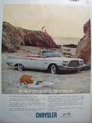 Chrysler The Car Of Your Life Ad 1960