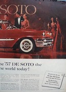 DeSoto Most Exciting Car In World Ad 1956