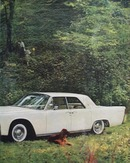 Lincoln Continental Classic Beauty Ad 1960
