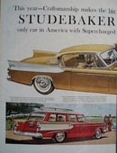Studebaker In Low Price Field Ad 1956