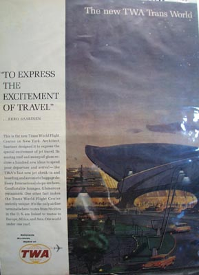 TWA Trans World Flight Center Ad 1962