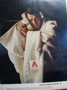 Chemstrand Get the Blanket with A Ad 1965