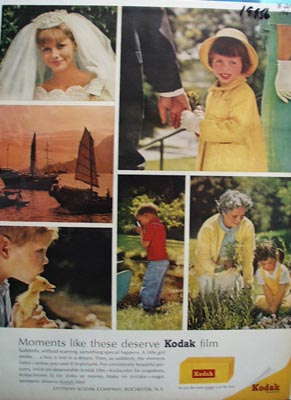 Kodak Moments Like These Ad 1964