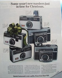Kodak Christmas ad 1968