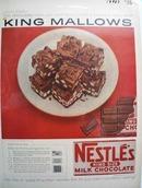 Nestles King Mallows Ad 1956