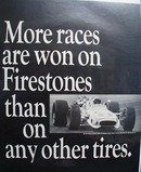 Firestone More Races Are Won Ad 1968