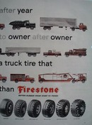 Firestone Year After Year Ad 1957