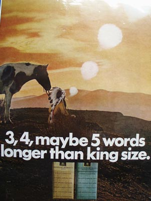 Benson & Hedges Longer Than King Size Ad 1968
