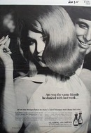 Clairol Shampoo Are You The Same Blonde Ad 1966