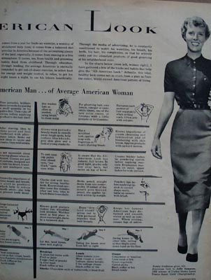 All American LookArticle 1956