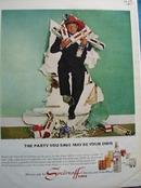 Smirnoff & Buddy Hackett Ad 1965