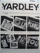Yardley Christmas Ad 1956