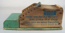 Wolverine old woman shoe toy or mousetrap