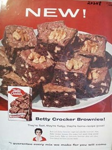 Betty Crocker Brownie Ad 1956