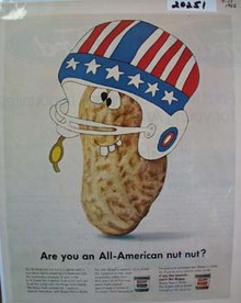 Skippy Peanut Butter All American Nut Ad 1966