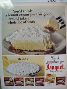 Banquet Pies Thank Goodness Ad 1966