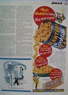 Planters Theyre Wonderful Ad 1952