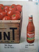 Hunts Catsup We Hunt for Best Ad 1968