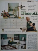 Bassett So Easy to Own Ad 1960