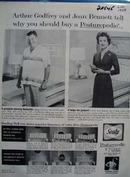 Sealy Arthur Godfrey Joan Bennett Ad 1959