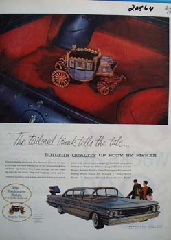 General Motors Body by Fisher Ad 1960