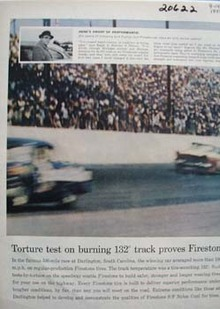Firestone Torture Test Ad 1958