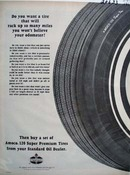 Standard Buy A Set of Amoco Tires Ad 1965