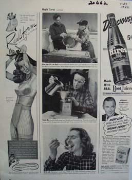 Hires Rootbeer Delicious Ad 1942