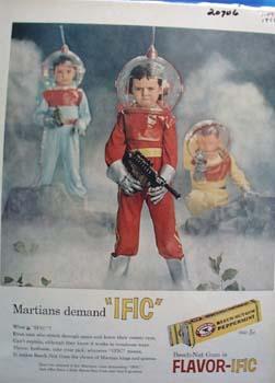 BeechNut Gum Martians Demand