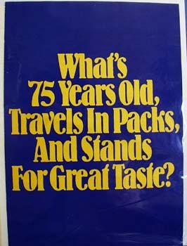 Joe Camel PopUp Ad  1988