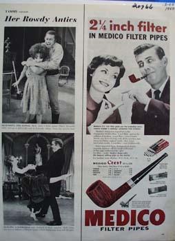 Medico Filter Pipes  Filter Ad 1960