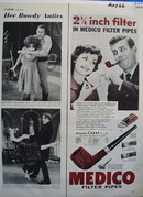 Medico Filter Pipes  Filter Ad 1960