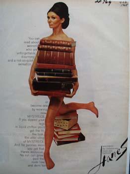 Hanes Hosiery Ad 1965