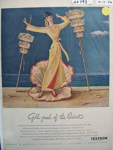 Textron Gold Pearl of Orient Ad 1946