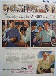 B.V.D. Next To Myself Ad 1943