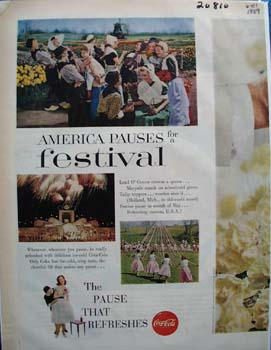 CocaCola America Pauses For Festival Ad 1959
