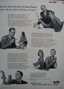 Postum Story Sandy Macleod Ad 1943