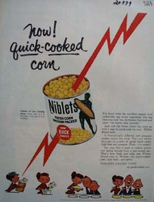 Niblets Corn Quick Cooked Ad 1957