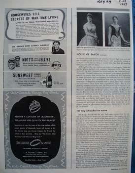 J R Wood Diamond Rings Ad 1943