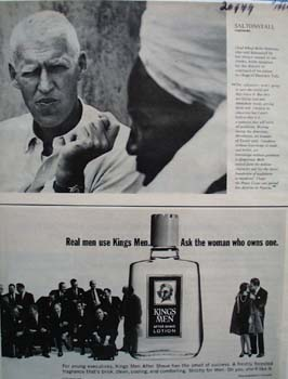 Kings Men Real Men Use Ad 1964