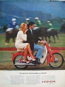 Honda Meet Nicest People Ad 1964.