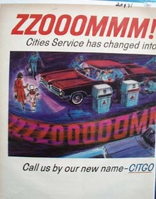 Citgo Something More Powerful Ad 1965