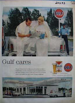 Gulf Cares Ad 1959