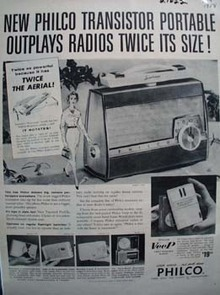 Philco Corp.Outplays Radios Ad 1958