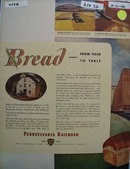 Pennsylvania RR From Field to Table Ad 1946