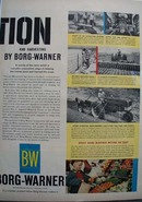 Borg Warner Cultivation Ad 1960