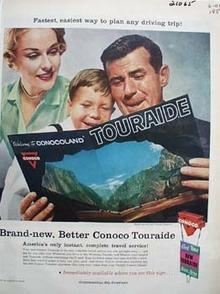 Conoco Touraide Ad 1959