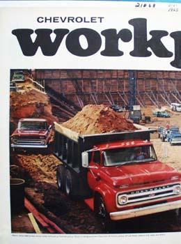 Chevrolet Good Jobs On Big Jobs Ad 1965