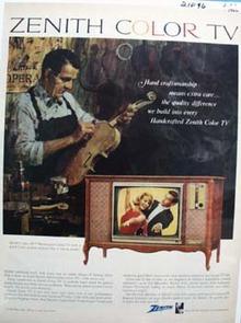 Zenith Hand Craftsmanship Ad 1966